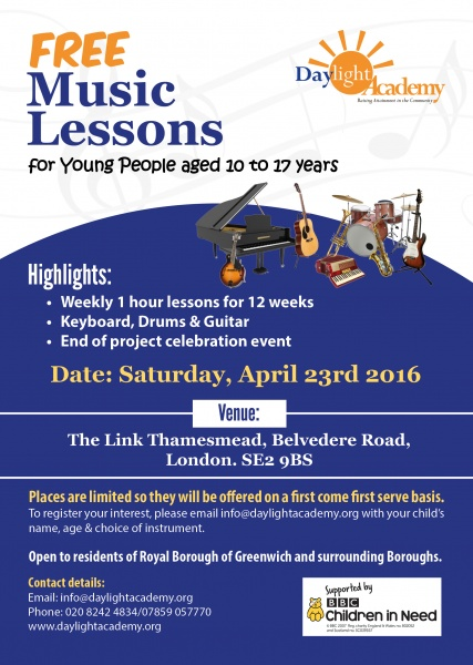 FREE MUSIC LESSONS (3)